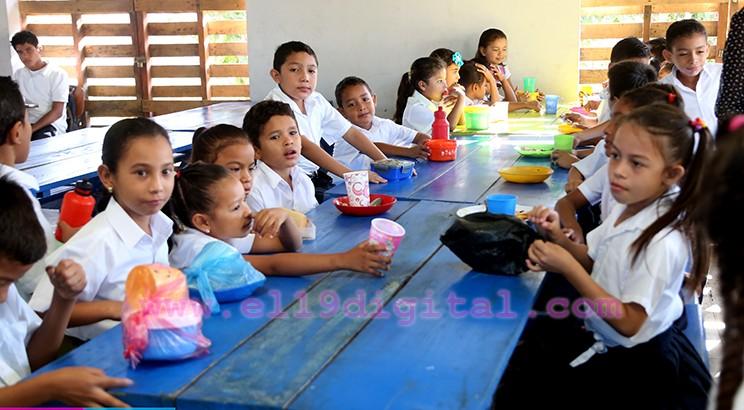 Nicaragua, MERIENDA ESCOLAR EN EL COLEGIO VIRGEN DE CUADALUPE
