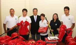 Nicaragua: deporte y educación, cooperación genuina