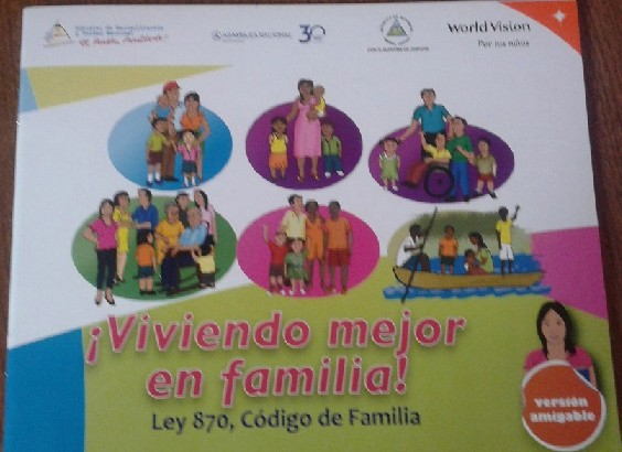 Código de la Familia, Nicaragua