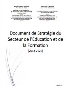 Portada informe Plan Estrategico decenal Educacion Barkina Faso