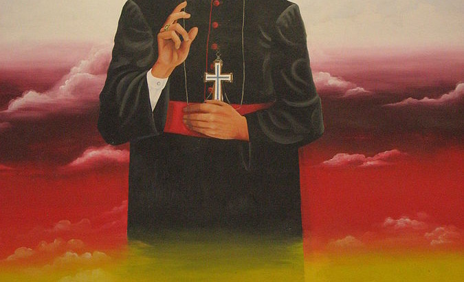 Mural de Monseñor Oscar Arnulfo Romero