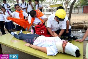 prevención, Nicaragua, escuelas, cooperación genuina