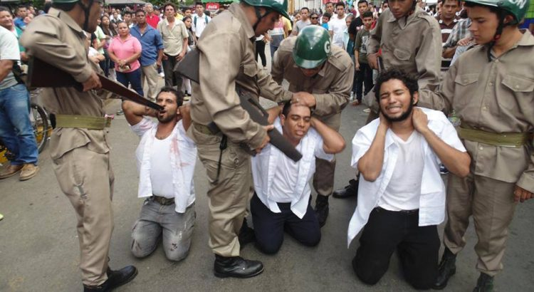Cooperación genuina, Nicaragua, Lucha estudiantil