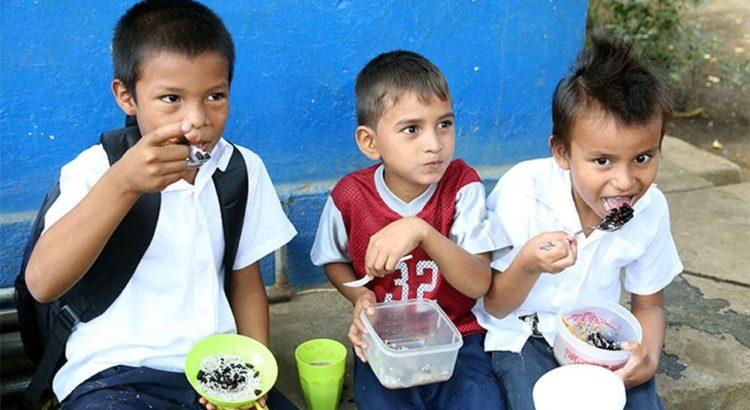 Cooperación genuina, Nicaragua, merienda escolar
