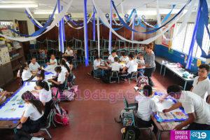 Cooperación genuina, Nicaragua, Independencia, Escuelas