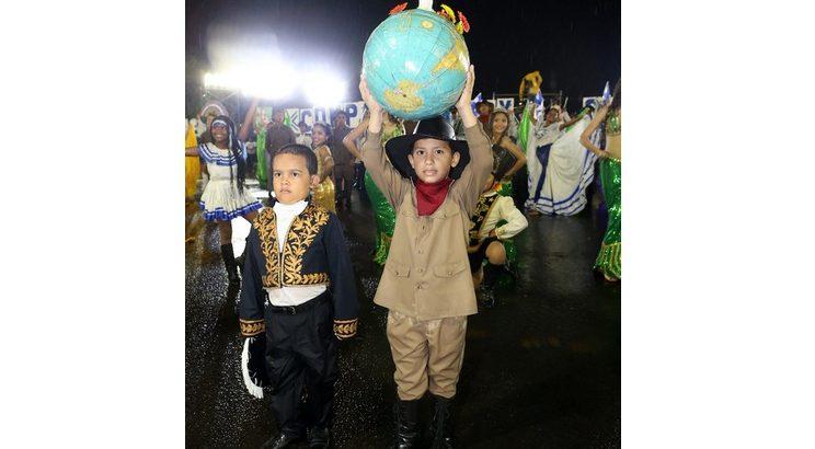 Cooperación genuina, Nicaragua, desfile patrio