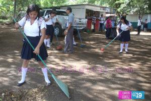 Nicaragua, cooperación genuina, escuelas limpias