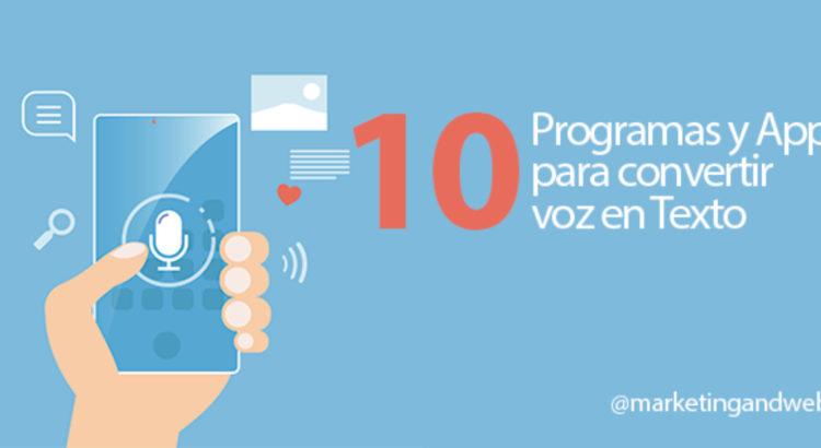 10 Programas Gratuitos Para Convertir Audio En Texto Otrasvoceseneducacion Org