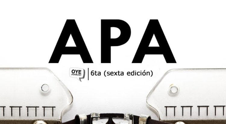 Normas Apa 2019 Sexta Edición Descargar Pdf